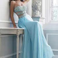 Cutout Evening Gown by Sherri Hill