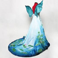 Monet Inspired Waterlilies Fairy Costume Made by Deconstructress