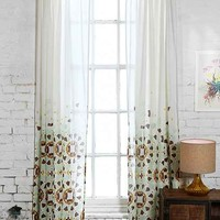 Magical Thinking Moroccan Tile Curtain-