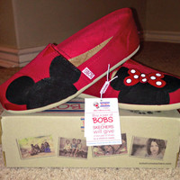 Dreams Come True (Red Bow Only) Inspired Custom BOBS Shoes