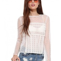 Endless Rose Donna Top