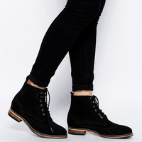 ASOS | ASOS ACTING UP Suede Ankle Boots at ASOS