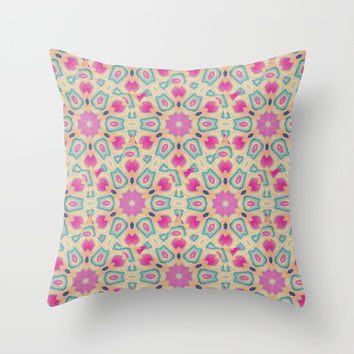 ARABESQUE Throw Pillow by Nika