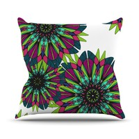 Kess InHouse Alison Coxon Bright Throw Pillow, 16 by 16-Inch