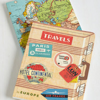 ModCloth Travel Thoughts from the Road Notebook Set