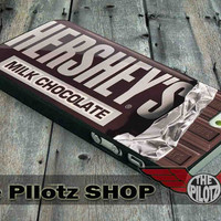 Hershey Candy Bar - iPhone 5/5s, 4/4s, 5c and Samsung Galaxy s2, s3, s4 Case