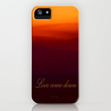 Love come down iPhone Case by Armine Nersisyan