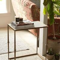 Serena Marble Side Table - Urban Outfitters