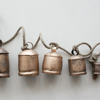 Windchimes and Bells Biggest to Smallest with Free by ironaworks