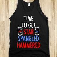 """""""Time To Get Star Spangled Hammered ( Red, White, Blue)"""" 