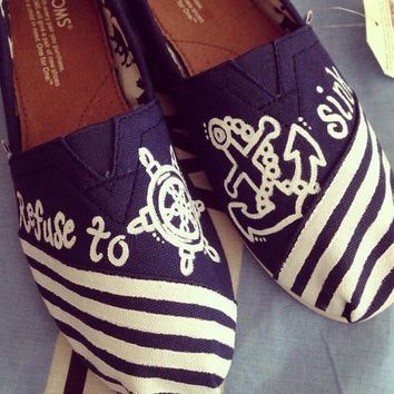 Custom Toms - Refuse To Sink