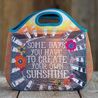 Lunch  Bag:  Create  Your  Own  Sunshine  Neoprene  Lunch  Bag  From  Natural  Life