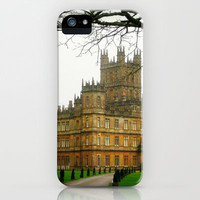 Downton Abbey Licious  iPhone Case by seardig