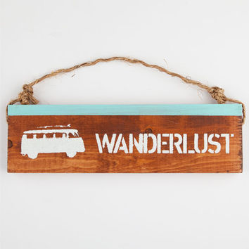 Wanderlust Sign Natural One Size For Women 25292242301