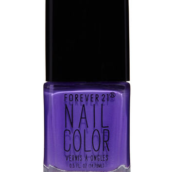 Neon Purple Nail Polish