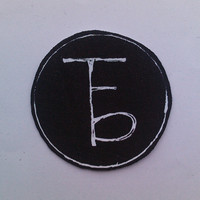 the front bottoms iron on patch
