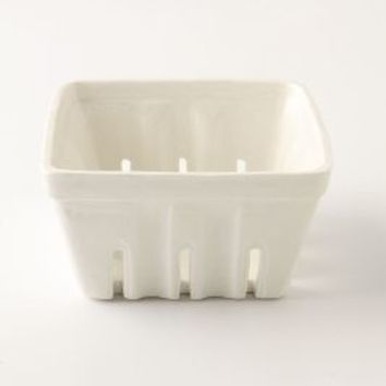 Farmers Market Basket, Large Square by Anthropologie