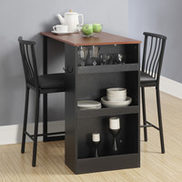 Dorel 3 Piece Counter Height Pub Table Set