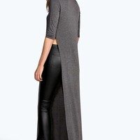 Maddison Turtle Neck Split Side Tunic