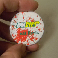 Zombies Eat Flesh by GotFlair on Etsy