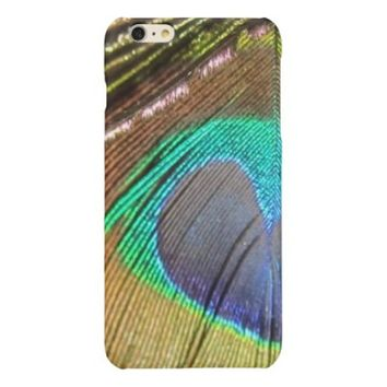 Peacock Feather iPhone 6 Plus Case