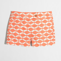 """Factory 3"""" printed stretch chino short : novelty 