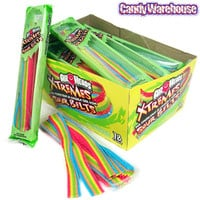 AirHeads Xtremes Sour Belts 2-Ounce Packs: 18-Piece Box