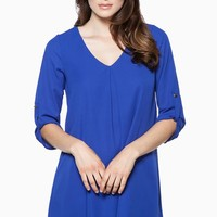 ShopSosie Style : Forget Me Not Dress in Royal
