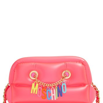 Moschino 'Letters' Inflatable PVC Shoulder Bag | Nordstrom