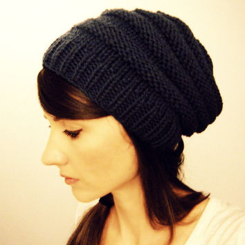 Woman's slouch hat To Market by KittyDune on Etsy