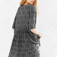 Ecote Printed Drippy Tee Dress - Urban Outfitters