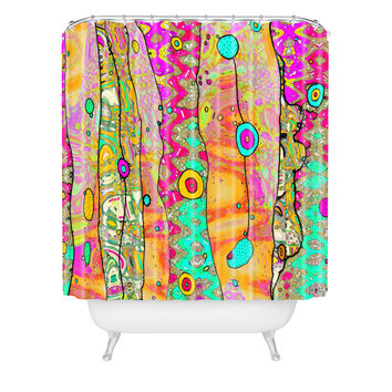 Ingrid Padilla Layers Of Whimsy Shower Curtain