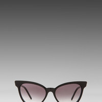 Wildfox Couture Le Femme Sunglasses in Black