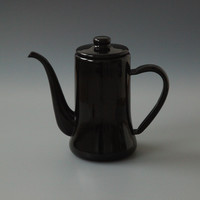 Japanese Coffee Pot Black