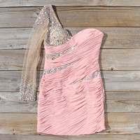 Spool Couture Athena Dress in Blush