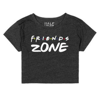 Friends Zone (dark)-Unisex Heather Onyx T-Shirt