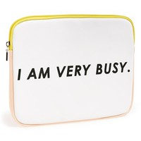 Women's ban.do iPad Sleeve - White