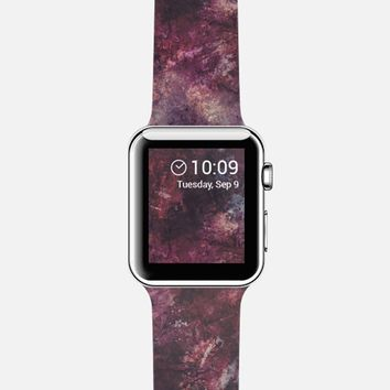 Painting purple grunge Apple Watch Band case by VanessaGF   Casetify