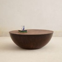 Semisfera Coffee Table by Anthropologie Brown One Size Furniture