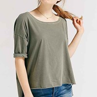 Truly Madly Deeply Coastal Dolman-Sleeve Tee-