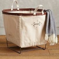 Small Canvas Hamper by Steele Canvas