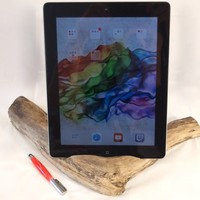 Driftwood docking station for iPad, Kindle Fire