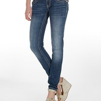 Miss Me Animal Print Skinny Stretch Jean