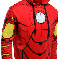 Iron Man Costume Hoodie - Red,