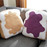Made for Each Other Pillow Set Customizable by diffractionfiber