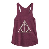 Tri Cranberry Tank | Cute Harry Potter Floral Shirts