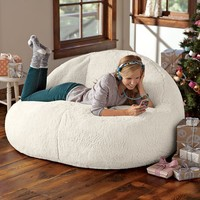 Ivory Sherpa Cloud Couch