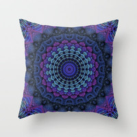 For the Love of Mandalas Throw Pillow by Lyle Hatch | Society6