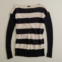 J.Crew Womens Dulphine Sailor-Stripe Sweater