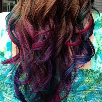 Temporary Hair Colored Chalk - Dip Dye, SELECT ANY COLOR